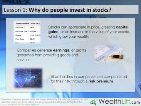 Invest Stock Market and Stock Investing Lesson 1