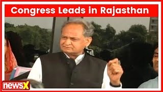 Ashok Gehlot reacts on Rajasthan Assembly Election Result 2018, says we are going to get majority - NEWSXLIVE