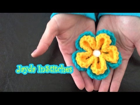 Crochet On The Run! - Flower Tutorial