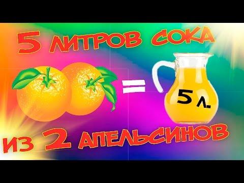 Сливки шоу как сделать сок из одного апельсина