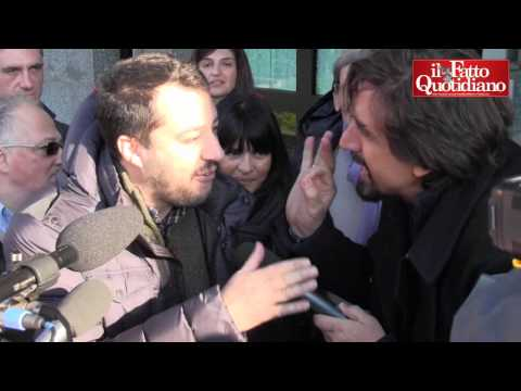 Felpa made in Italy, tapiro d'oro a Salvini.