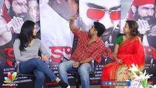 Kaasi movie team funny interview || Vijay Antony, Sunaina, Kiruthiga Udhayanidhi || Kaali Movie - IGTELUGU