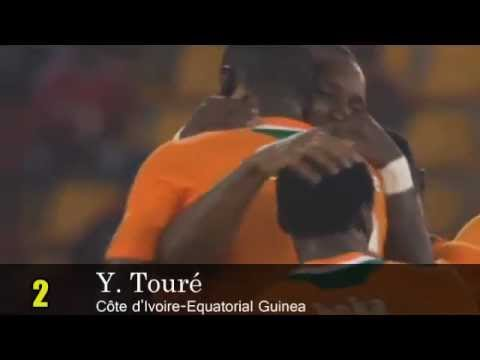 Top ten best goals african cup 2012