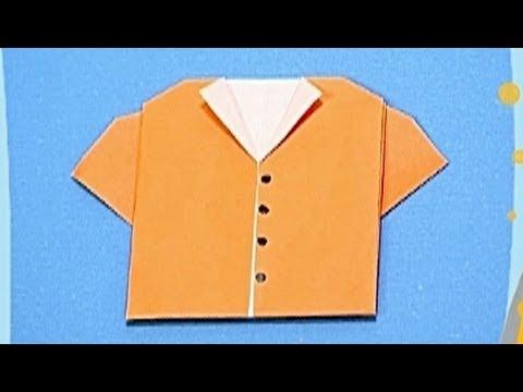 Çocuklar İçin Origami Shirt (Öğretici) – Kağıttan Arkadaşlar 19
