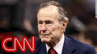 Former President George H.W. Bush in intensive care - CNN