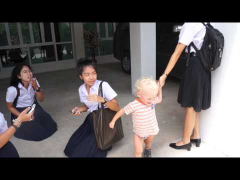 Thai Surat Thani school girls and Roma part 3