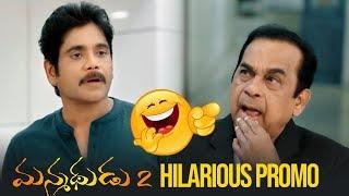 Brahmanandam Manmadhudu 2 Hilarious Promo | Nagarjuna, Rakul Preet - TFPC