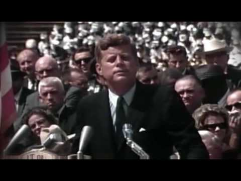 We Choose to Go to the Moon - John F. Kennedy Rice University Speech