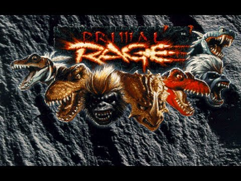 Primal Rage *All Fatalities/Finishers* (HD)