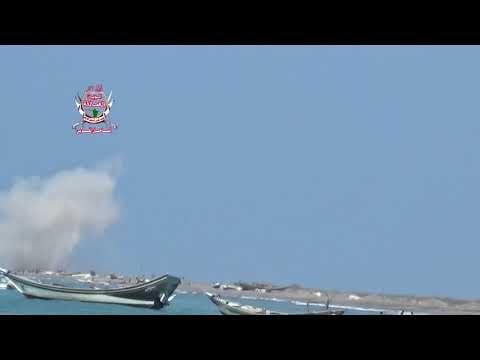 شاهد بالفيديو كيف قصفت مليشيات الحوثي على الاطفال بصاروخ كاتيوشا في ساحل المتينة في الحديدة 17 يناير