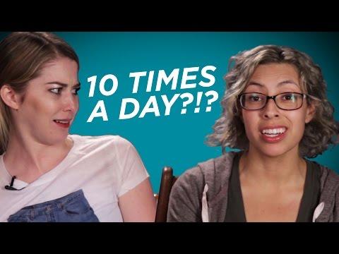 Kobiety odpowiadają na pytania facetów.