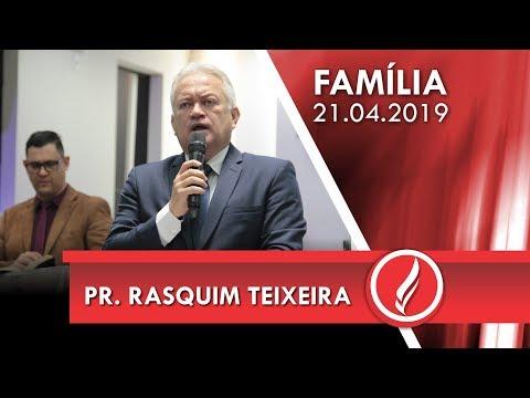 Pr. Rasquim Teixeira | Jesus jamais te abandona | Mt 28.1-7 | 21 04 2019