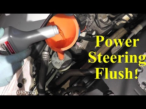 Acura TL Power Steering Flush With Basic