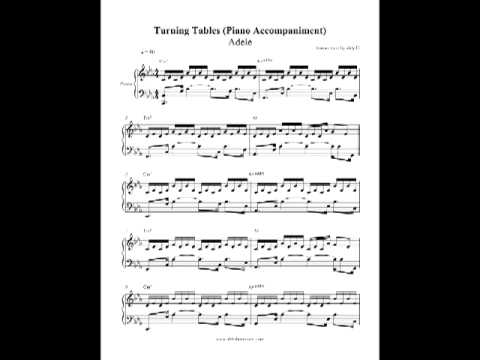 Turning Tables - Adele (Piano Accompaniment) by aldy32