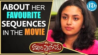 Actress Malavika Nair About Her Favourite Sequences In The Movie || Talking Movies With iDream - IDREAMMOVIES