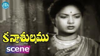 #Mahanati Savitri Kanyasulkam Movie Scene - NTR Goes To Savitri's House || Savitri - IDREAMMOVIES