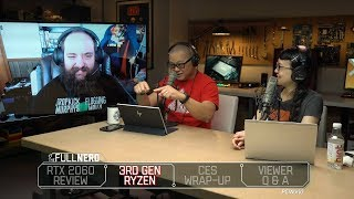 RTX 2060 review, 3rd gen Ryzen news, and best of PCs at CES 2019 | The Full Nerd Ep. 81 - PCWORLDVIDEOS