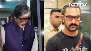 Celeb Spotting: Aamir Khan, Amitabh Bachchan & Others - NDTV