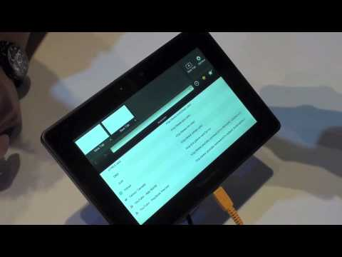 RIM Blackberry Playbook: Hands On Demo