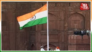 PM Modi Hoists The Tricolour Flag At The Red Fort | AajTak Special Coverage - AAJTAKTV