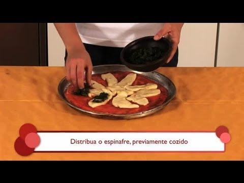 Como preparar uma pizza de espinafre e molho bechamel : As melhores variedades de pizza