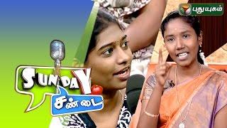 Sunday Sandai 06-09-2015 –  PuthuYugam TV Show