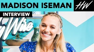 Jumanji's, Madison Iseman Fangirls Over Jack Black & Reveals BTS Secrets!! | Hollywire - HOLLYWIRETV