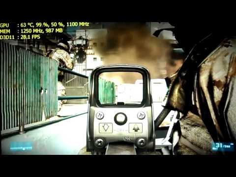 AMD HD 7770 Battlefield 3 ULTRA PC gameplay [HD]