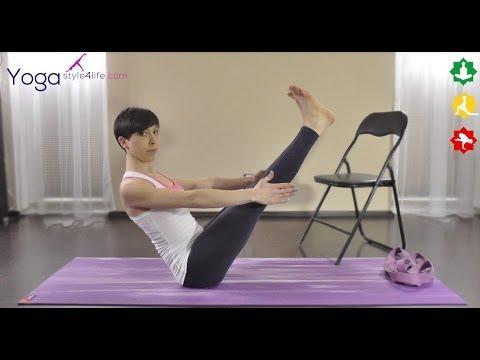 Joga na mięśnie brzucha - Paripurna Navasana