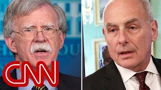 John Bolton and John Kelly get into heated shouting match - CNN