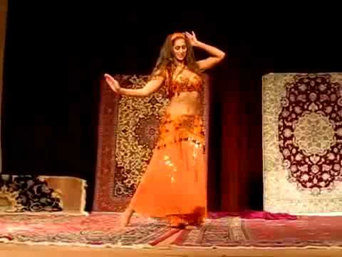 Sadie Belly Dance 2011 AMAZING DANCE