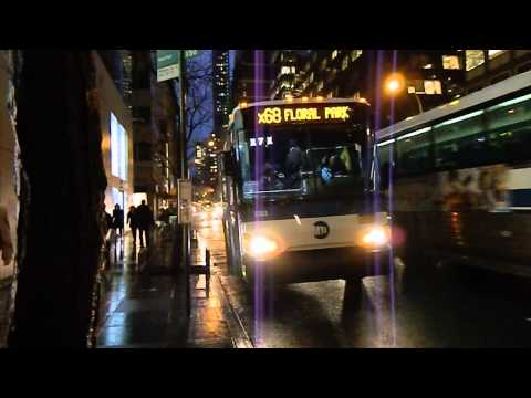 MTA New York City Bus 2013 MCI D4500CT #2283 on Route X68