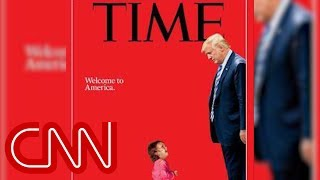 New Time cover shows Trump towering over a sobbing toddler - CNN