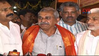 Former Minister Mahendra Reddy is all set to join the YCP Party | CVR NEWS - CVRNEWSOFFICIAL