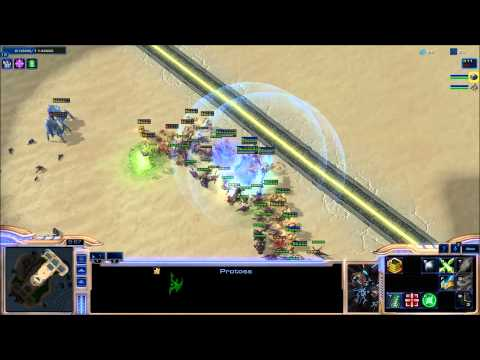 Starcraft 2 Desert Strike  Come and play guys and gals!