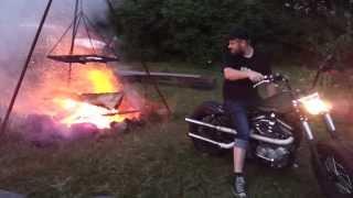 Harley Davidson és a tűzgyújtás