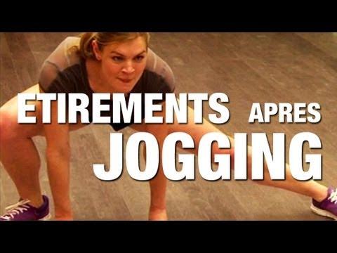 Fitness Master Class - Étirements après jogging