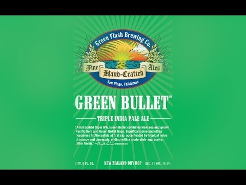 Green Flash Green Bullet | The Beer Heads - Beer Review #399