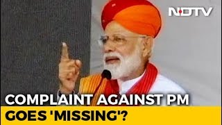 "Poll Violation Complaint Against PM Modi Missing? Election Body Says ""Glitch"" - NDTV"
