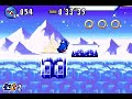 Speed run - Sonic Advance 3: Twinkle Snow Act 3