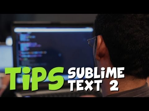 Consejos y trucos de Sublime Text 2
