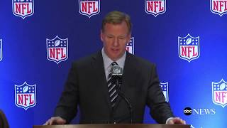 NFL not changing its national anthem policy, Goodell says - ABCNEWS