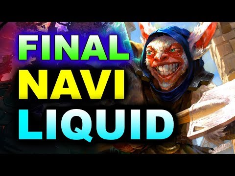 LIQUID vs NAVI - GRAND FINAL - MEGAFON WINTER CLASH DOTA 2