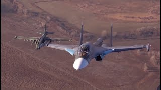 Russia's Su-25 & Su-34 fly together in stunning close-up video - RUSSIATODAY