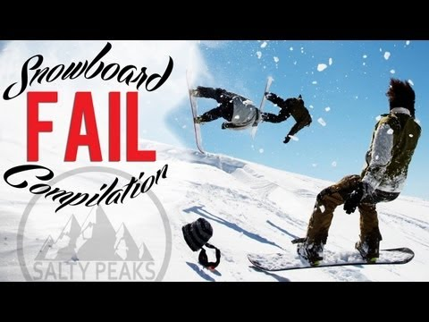 Snowboarding Fail Video Compilation May 2013