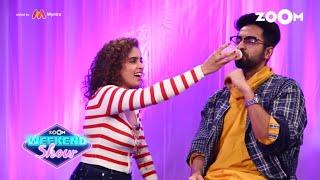Ayushmann, Sanya, Neena & Gajraj play FUN game 'Baby Ho Ya Bold Ho Sabko Badhai Ho' - ZOOMDEKHO