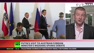 From wedding to resignation? Putin's visit to Austrian FM's wedding sparks calls for her to quit - RUSSIATODAY