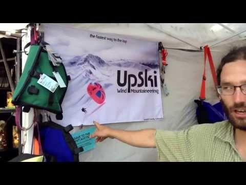 UpSki debut booth at Mountain Fair