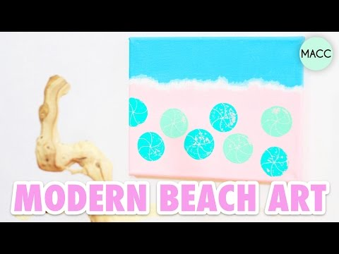 DIY Modern Beach Art: Craft Fail or Win?