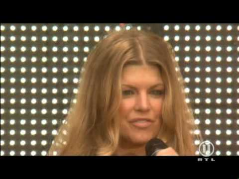 Fergie Glamorous Live Concert For Diana